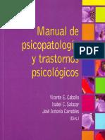 Capítulo Psicopatología