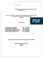 Proyecto Formulacion y Desarrollo