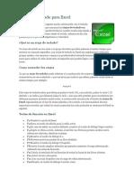 Atajos de Teclado Para Excel (Autoguardado)