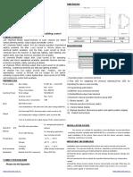 technical sheet room controller