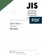 JIS B 7502-2016