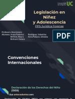 Legislación en Niñez y Adolescencia