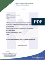Cartas Extensión 2016