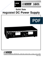 Bk-precision 1601 Power Supply