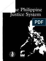 Philippine Justice System Report