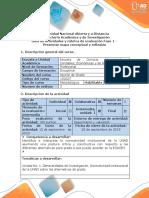 Guía de Actividades y Rúbrica de Evaluación - Fase 1 - Presentar Mapa Conceptual y Reflexión