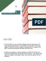Microcontroller Keil IDE