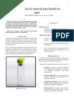 Re-seleccion para botella de agua