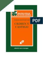 Crimen y castigo, portadas