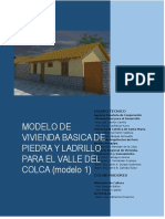 MODELO DE VIVIENDA