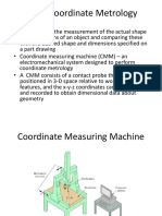 Coordinate Metrology
