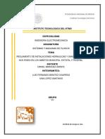 normas y reglamentos de las instalaciones