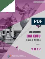 Kecamatan Loa Kulu Dalam Angka 2017