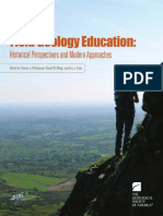 (Geological Society of America Special Papers volume 461) Steven J. Whitmeyer, David W. Mogk, Eric J. Pyle - Field Geology Education_ Historical Perspectives and Modern Approaches (GSA Special Paper 4.pdf