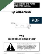 Greenlee 755 Hydraulic Pump.pdf