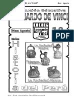 Agosto – Historia Del Perú - 1ero