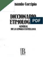 Dicc Etimológico - Corripio