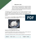 Fundamento de Hidróxido de Sodio