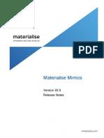 Release Notes - Materialise Mimics 22.0 RTM.pdf