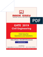 Ce Gate 2019 Set 01 Made Easy