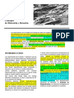 Geology estructural