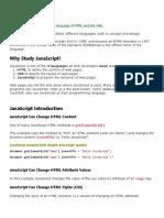 Javascript Lesson