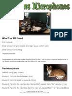 Cat News Microphone - Crochet Pattern