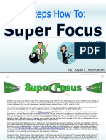 8 Steps How to Super Hyper Focus eBook