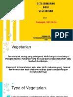Gizi Seimbang Vegetarian