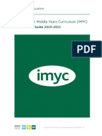 A. International Middle Years Curriculum (IMYC) - Curriculum Guide