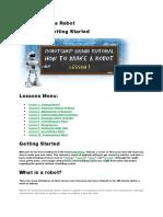 Robotic for beginer