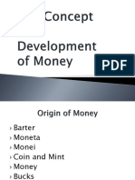 The Concept and Development of Money (1)