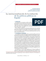 Institucionalización Epp Garde 2006