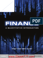 Finance A quantitative introduction
