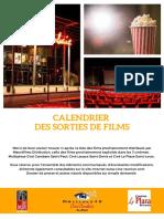 Sorties films réseau Mauréfilms