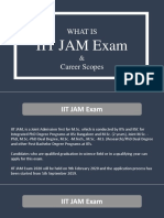 What is IIT JAM Exam - Get the Scopes After M.sc. From IITs