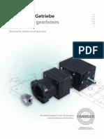 Detandler Servogetriebe Katalogentandler Servo Gearboxes Catalogue