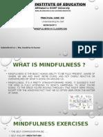 WORKSHOP 3 (Mindfulness)