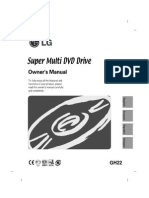 LG DVD WRITER INSTALLATION