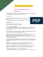 7 quy tắc học tiếng Anh hiệu quả