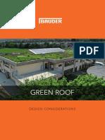 Green Roof Design Considerationsbauder