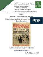 Contexto socieconomico de México.