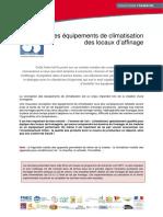 CLIMATISATION - Equipements de Climatisation Locaux Affinage