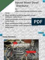 Pompa Injector Motor Diesel Distributor