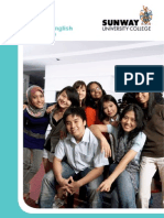 Intensive English Programme- Sunway University College 2011