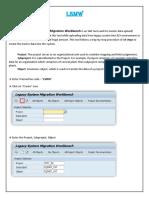 LSMW Document Guide