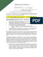 Template Apprentice Contract