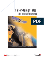 Notions Fondamentales de Télédetection