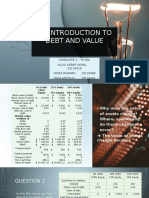 An Introduction to Debt Policy and Value - Syndicate 4