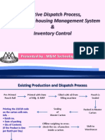 Effective Process for Dispatch & Inventory Control